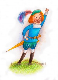 ilustrace Markéta Vydrová: Draka je lepší pozdravit